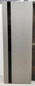 межкомнатная современная дизайнерская дверь вертикальная полоска стекло future 53 potential doors
