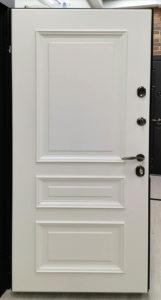 входная дверь классический стиль багет эмаль Л-1 ral 9001 стальная линия