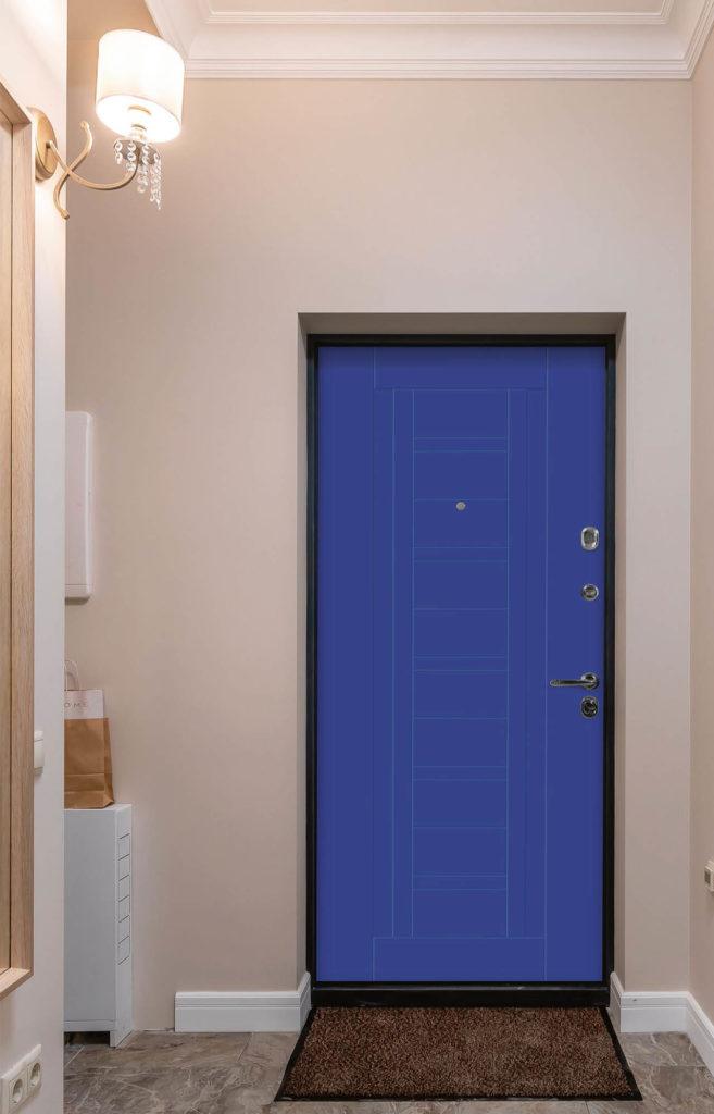 Входная дверь альфа В-2 Стальная линия