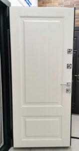 входная дверь стальная линия экопшон премиум ясень кремовый рисунок П-45