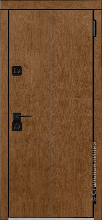 каталина входная дверь производства стальная линия отделка Concord Panel Шабо рисунок CR-02