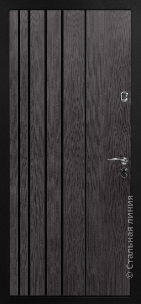 авиор входная дверь для квартиры стальная линия отделка экошпон премиум ясень кремовый рисунок CL-02