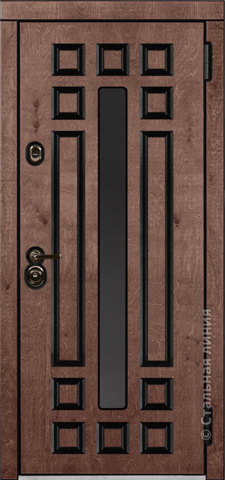 дастан входная дверь стальная линия терморазрыв стеклопакет С2 бьорк калабрия рисунок П-59