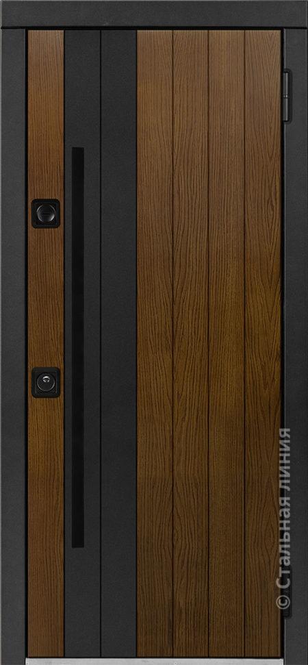 Гавиор входная дверь в дом с терморазрывом стальная линия отделка concord вставки steellak рисунок CG-04