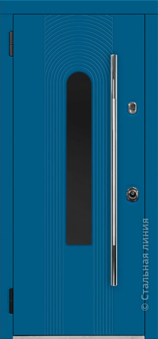 орион входная дверь с терморазрывом и стеклопакетом стальная линия отделка steellak стеклопакет Е рисунок Н-94