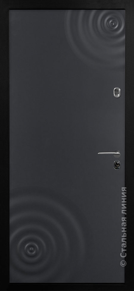 входная дверь сиэтл лайт стальная линия эмаль антрацит рисунок CV-01