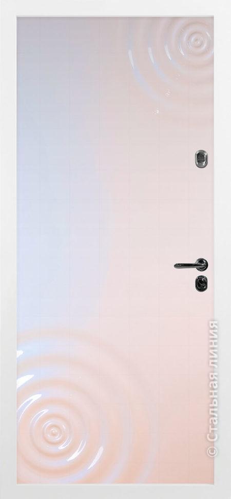 входная дверь сиэтл стальная линия эмаль хамелион рисунок CV-01