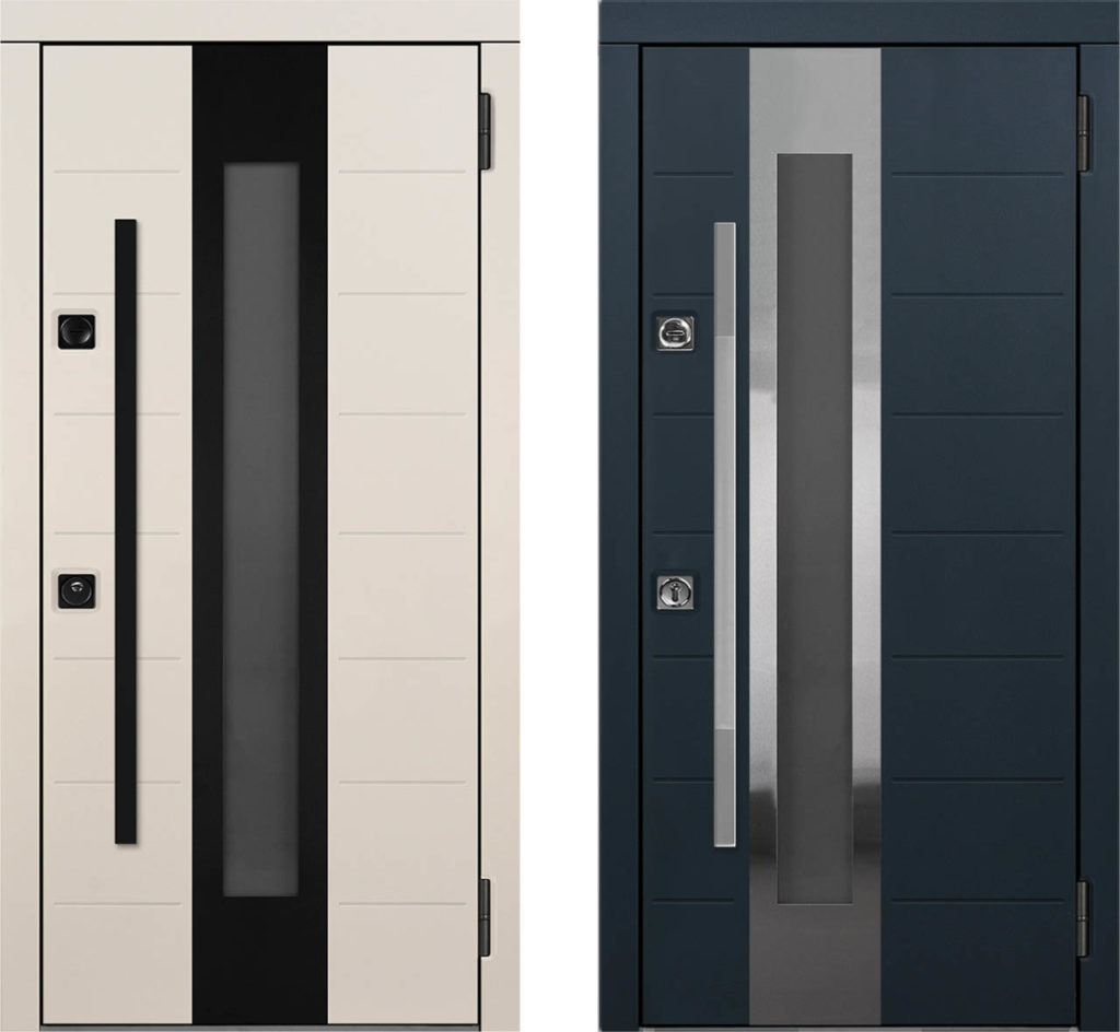 Окна C2 и C2-Z для входных дверей стальная линия