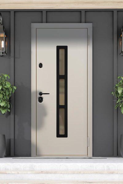 Окно F стальная линия для дверей в коттедж