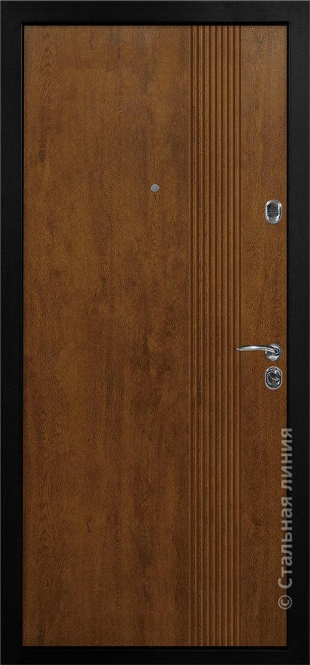 джерси мидл входная дверь стальная линия отделка steeltex дуб золотистый рисунок Н-79