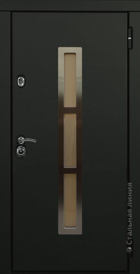Норвегия мидл входная дверь для дом с окном и терморазрывом произсводства стальная линия рисунок O-F