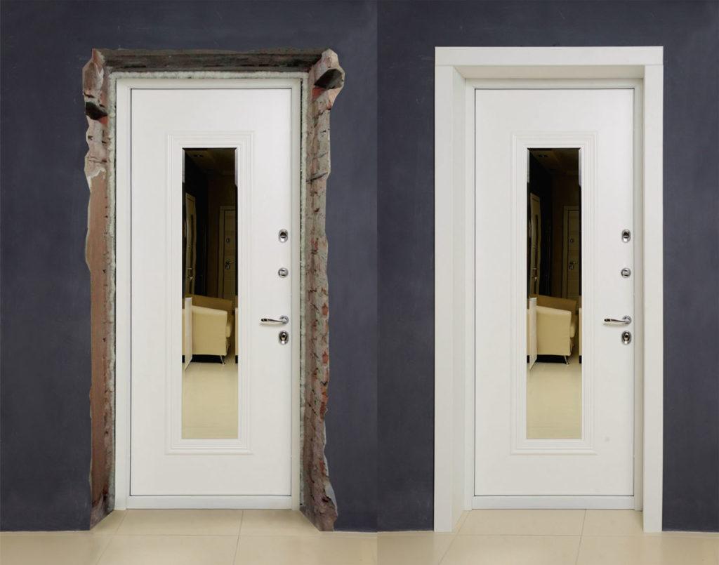 Откосы для дверей стальная линия