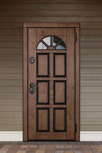 окно В для уличных дверей стальная линия